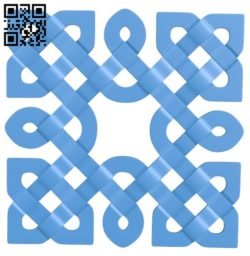 Square pattern A004262 download free stl files 3d model for CNC wood carving