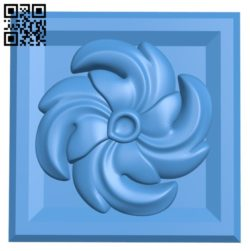 Square pattern design A004382 download free stl files 3d model for CNC wood carving