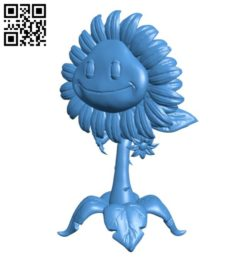 Sun flower B006264 download free stl files 3d model for 3d printer and CNC carving
