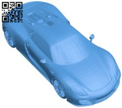 Super car B005957 download free stl files 3d model for 3d printer and CNC carving