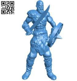 Sword bandit B006234 download free stl files 3d model for 3d printer and CNC carving