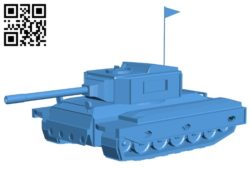 Tank B006238 download free stl files 3d model for 3d printer and CNC carving