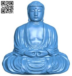 The great buddha at kamakura japan B005860 download free stl files 3d model for 3d printer and CNC carving