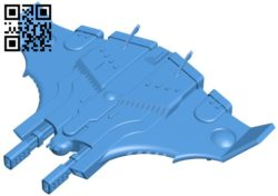 Tiger Shark AX-1-0 B006269 download free stl files 3d model for 3d printer and CNC carving