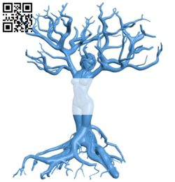 Trunk shaped woman B006038 download free stl files 3d model for 3d printer and CNC carving