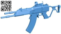 Vladof AR gun B006272 download free stl files 3d model for 3d printer and CNC carving