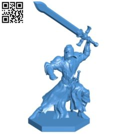 Warrior pose B006110 download free stl files 3d model for 3d printer and CNC carving