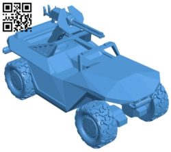 Warthog – Combat motorcycle B006079 download free stl files 3d model for 3d printer and CNC carving