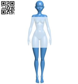 Women B005884 download free stl files 3d model for 3d printer and CNC carving