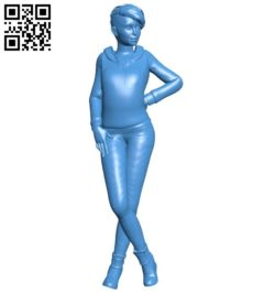 Women zoe dreamfall B005829 download free stl files 3d model for 3d printer and CNC carving