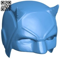 Helmet of the blind superman B005986 download free stl files 3d model for 3d printer and CNC carving