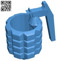 mug opener B005947 download free stl files 3d model for 3d printer and CNC carving