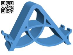 phone stand B006098 download free stl files 3d model for 3d printer and CNC carving