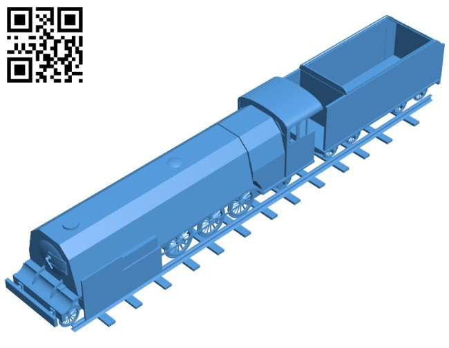 Armored train B006428 file stl free download 3D Model for CNC and 3d printer