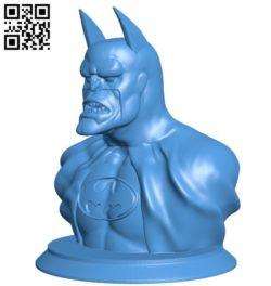Batman B006338 download free stl files 3d model for 3d printer and CNC carving