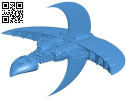 Centauri Warship – ship B006392 file stl free download 3D Model for CNC and 3d printer