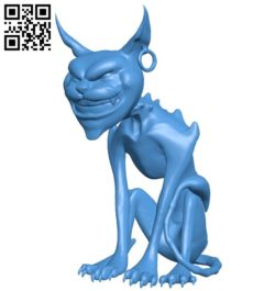 Cheshire cat B006410 file stl free download 3D Model for CNC and 3d printer