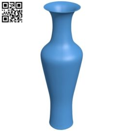 China vase B006434 file stl free download 3D Model for CNC and 3d printer