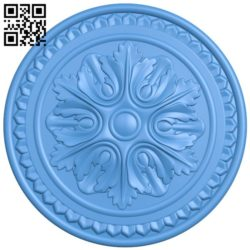 Circular disk pattern A004399 download free stl files 3d model for CNC wood carving