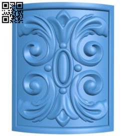 Curved surface pattern A004482 download free stl files 3d model for CNC wood carving