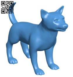 Dog B006569 file stl free download 3D Model for CNC and 3d printer