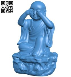 Don't look wrong B006537 file stl free download 3D Model for CNC and 3d printer