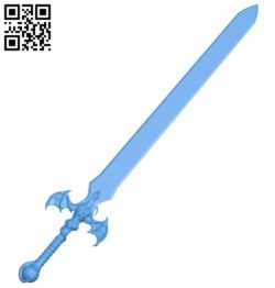 Dragon blade B006474 file stl free download 3D Model for CNC and 3d printer
