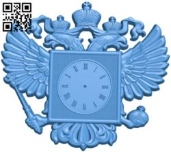 Eagle watch A004510 download free stl files 3d model for CNC wood carving