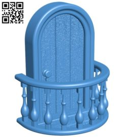 Fairy Doors B006632 file stl free download 3D Model for CNC and 3d printer