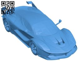 Ferrari FXX K Car B006448 file stl free download 3D Model for CNC and 3d printer