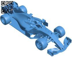 Ferrari SF71H Car B006418 file stl free download 3D Model for CNC and 3d printer