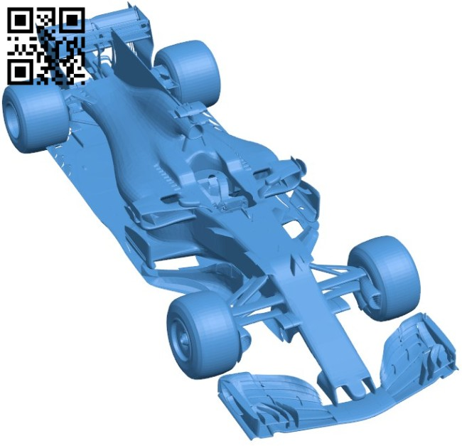 Ferrari car B006462 file stl free download 3D Model for CNC and 3d printer
