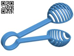 Fish feeder tong B006468 file stl free download 3D Model for CNC and 3d printer