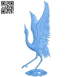 Flamingo A004558 download free stl files 3d model for CNC wood carving