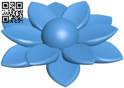 Flower B006306 download free stl files 3d model for 3d printer and CNC carving