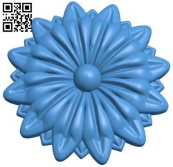 Flower pattern design A004526 download free stl files 3d model for CNC wood carving