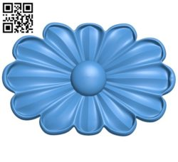 Flower vase pattern A004452 download free stl files 3d model for CNC wood carving