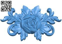 Flower vase pattern A004453 download free stl files 3d model for CNC wood carving