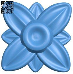 Flower vase pattern A004454 download free stl files 3d model for CNC wood carving
