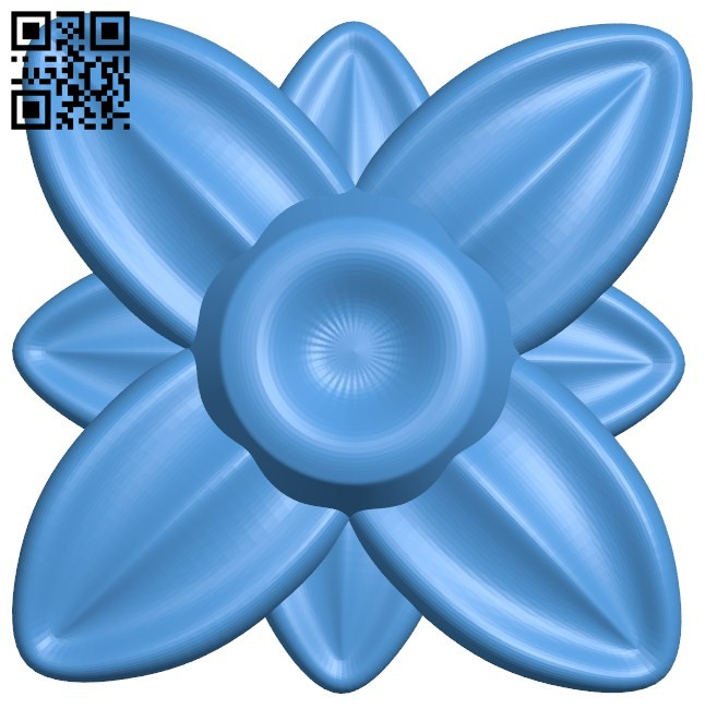 Flower vase pattern A004454 download free stl files 3d model for CNC wood carving