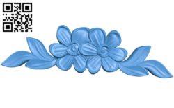 Flower vase pattern A004481 download free stl files 3d model for CNC wood carving