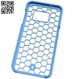 Galaxy S7 Hex Case B006381 file stl free download 3D Model for CNC and 3d printer