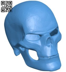 Ghost Rider Skull B006382 file stl free download 3D Model for CNC and 3d printer