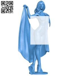 Girl in towel B006571 file stl free download 3D Model for CNC and 3d printer