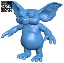 Gizmo B006585 file stl free download 3D Model for CNC and 3d printer