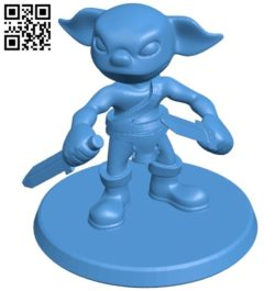 Goblin B006575 file stl free download 3D Model for CNC and 3d printer