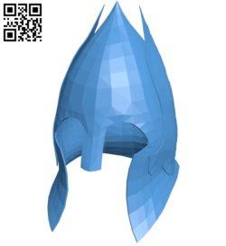 Gondor Helmet B006406 file stl free download 3D Model for CNC and 3d printer