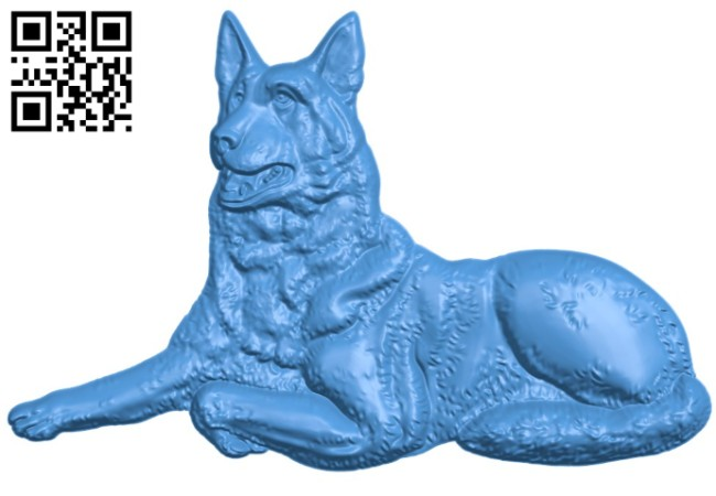 Good-looking dog A004553 download free stl files 3d model for CNC wood carving