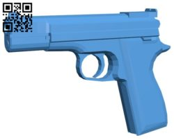 Gun B006595 file stl free download 3D Model for CNC and 3d printer
