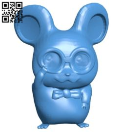 Hamtaro dexter B006630 file stl free download 3D Model for CNC and 3d printer